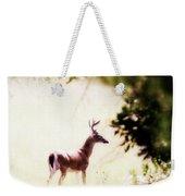 Deer 2 - Buck - White-tailed Weekender Tote Bag