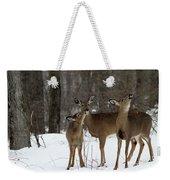 Deer Affection Weekender Tote Bag