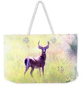 Deer - Buck - White-tailed Weekender Tote Bag