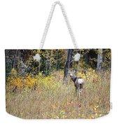 Deer Camoflauged Weekender Tote Bag
