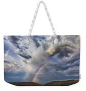 Deer Creek Storm Weekender Tote Bag