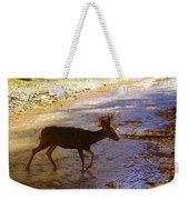 Deer Crossing Weekender Tote Bag