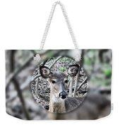 Deer Hunter's View Weekender Tote Bag