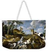 Deer Hunting Weekender Tote Bag