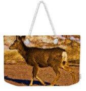 Deer In A Different Light Weekender Tote Bag