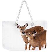 Deer Kisses Weekender Tote Bag