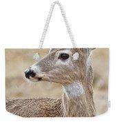 White Tail Deer Profile Weekender Tote Bag