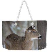 Deer Profile Weekender Tote Bag
