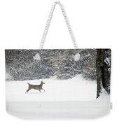 Deer Running Weekender Tote Bag