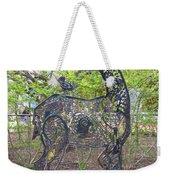 Deer Sculpture Weekender Tote Bag
