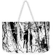 Deer Shadow Weekender Tote Bag
