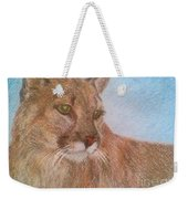 Deer Tiger Weekender Tote Bag