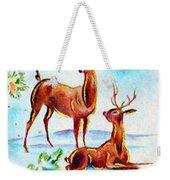 Deers Break Weekender Tote Bag