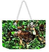 Deer's Green Day Weekender Tote Bag