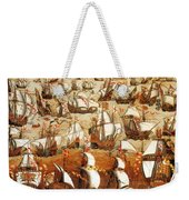 Defeat Of The Spanish Armada 1588 Weekender Tote Bag