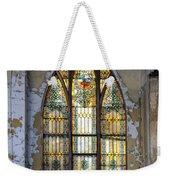Defiant Stain Glass Church Window #1 Weekender Tote Bag