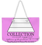 Collection Defined Weekender Tote Bag