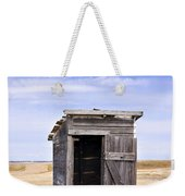 Defunct Outhouse At Rural Elementary School Weekender Tote Bag