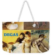 Degas Collage Weekender Tote Bag by Philip Ralley