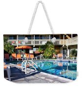 Del Marcos Pool Palm Springs Weekender Tote Bag