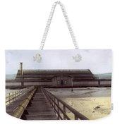 Del Monte Bathhouse From Pier California  Circa 1890 Weekender Tote Bag