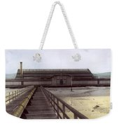 Del Monte Bathhouse From Pier California  Circa 1890 Weekender Tote Bag