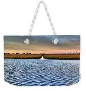 Delaware- Assawoman Bay Weekender Tote Bag