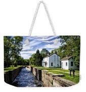 Delaware Canal Kingston New Jersey Weekender Tote Bag