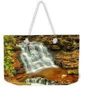Delaware Falls - Ricketts Glen Weekender Tote Bag