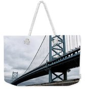 Delaware River Bridge - Philadelphia Weekender Tote Bag