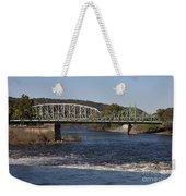 Delaware River Easton Pennsylvania Weekender Tote Bag