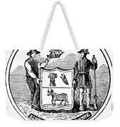 Delaware State Seal Weekender Tote Bag