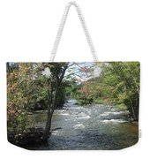 Delhi Rapids From The Bridge Weekender Tote Bag