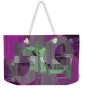Deliberations Weekender Tote Bag