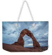 Delicate Arch Blue Hour Weekender Tote Bag