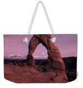 Delicate Arch Weekender Tote Bag by Leland D Howard