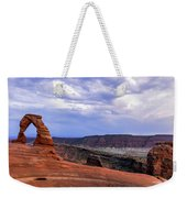 Delicate Arch Located In Arches Weekender Tote Bag