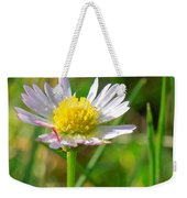 Delicate Daisy In The Wild Weekender Tote Bag