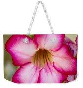 Delicate Desert Rose Weekender Tote Bag