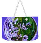 Delicate Flowers Orb Weekender Tote Bag