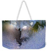 Delicate Ice - Digital Painting Effect Weekender Tote Bag