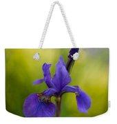 Delicate Japanese Iris Weekender Tote Bag