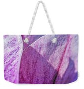 Delicate Nature Weekender Tote Bag