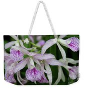 Delicate Orchid Blossoms Weekender Tote Bag