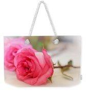 Delicate Rose Weekender Tote Bag