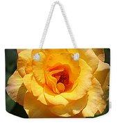 Delicate Yellow Rose Weekender Tote Bag