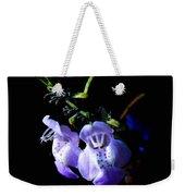 Delicately Purple Weekender Tote Bag