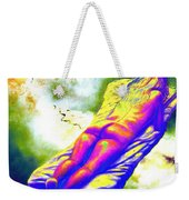 Delicious Babe Engulfed In Books Weekender Tote Bag