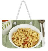 Delicious Macaroni Lunch Weekender Tote Bag