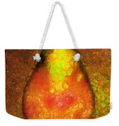 Delicious Pear Abstract Expressionism Weekender Tote Bag